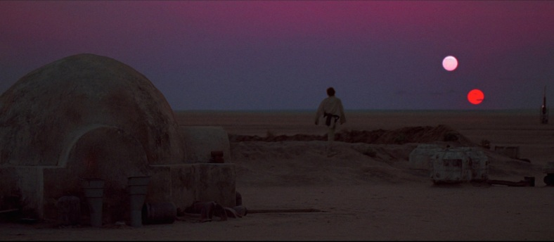 StudyingSkywalkersEpIV_luke_sunsets